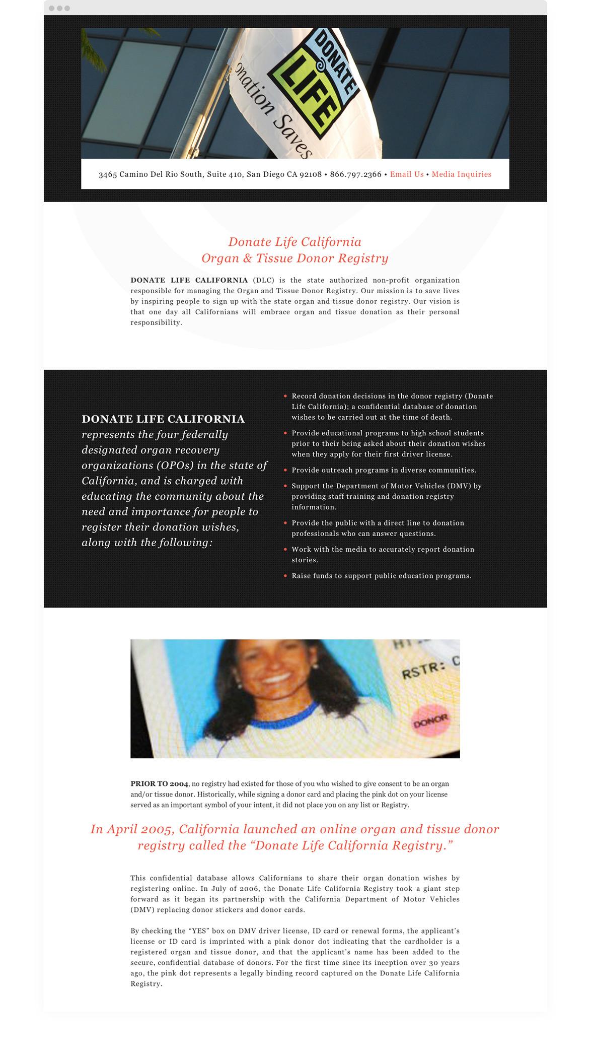 Kymera - Donate Life California