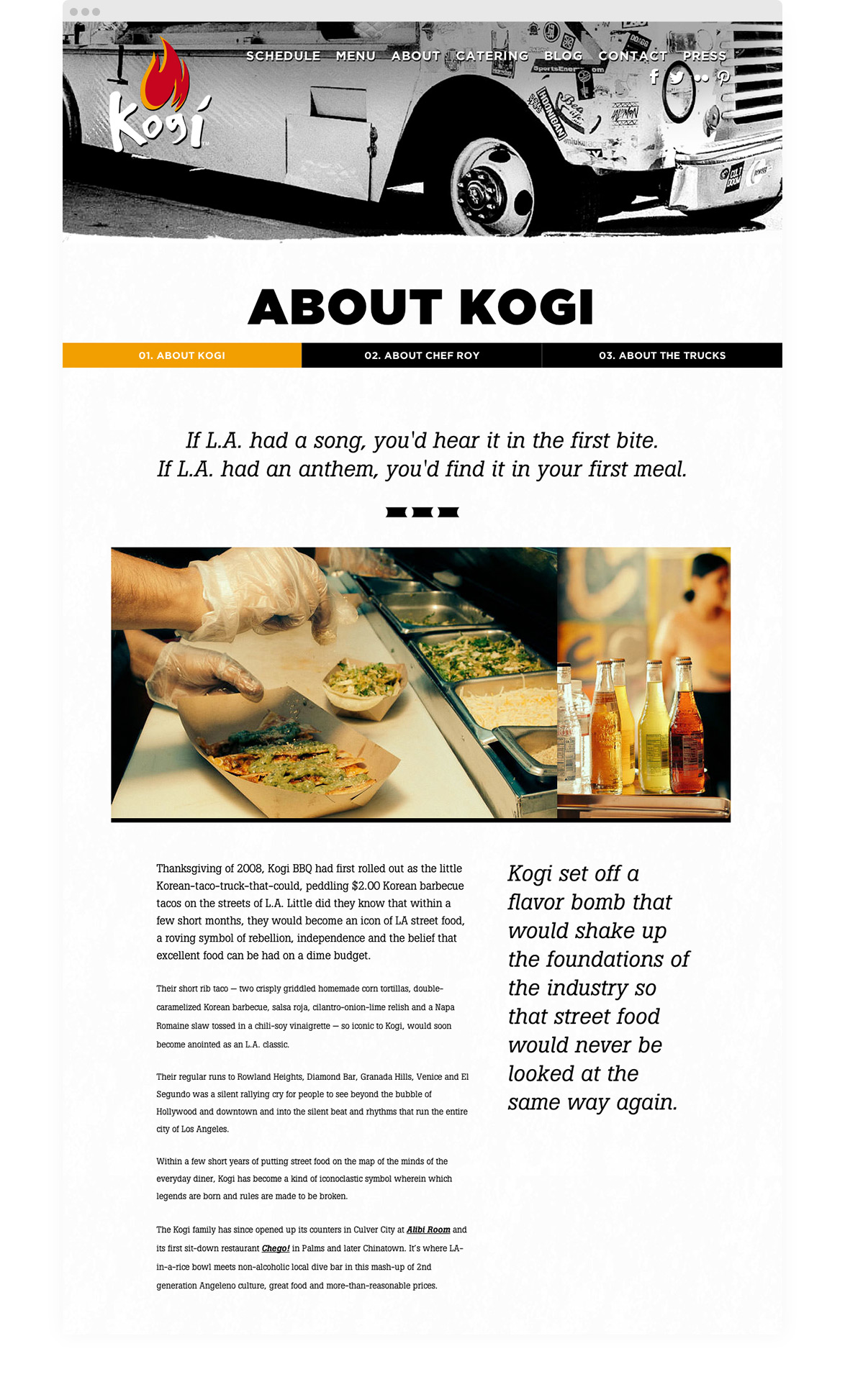 Kymera - Kogi BBQ